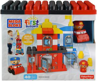 Fisher-Price 40-Piece Rescue Squad Builder Set
