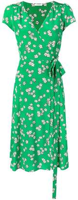 P.A.R.O.S.H. V-neck printed dress