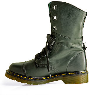 Dr. Martens Aimilie - Leather Fold Over Bootie