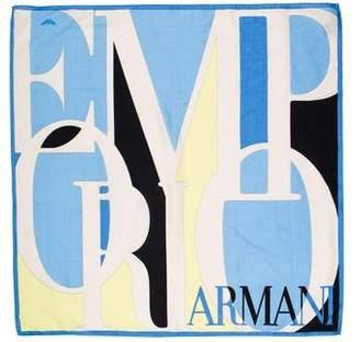 Emporio Armani Printed Square Scarf