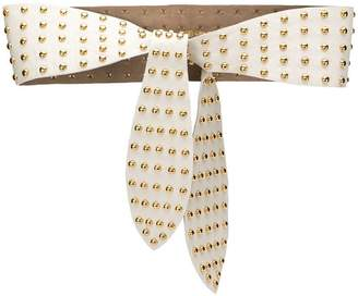 B-Low the Belt studded wrap belt