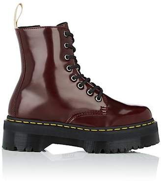 Dr. Martens Women's Jadon Leather Platform Ankle Boots - Md. Red