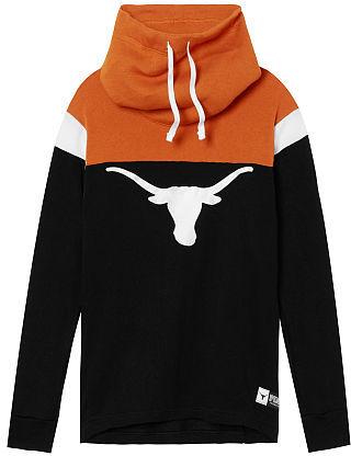 Victoria's SecretVictorias Secret University Of Texas Cowl Pullover