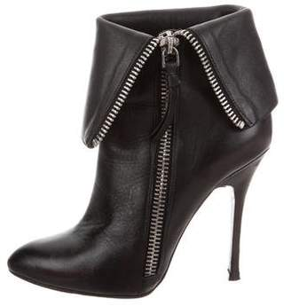 Jean-Michel Cazabat Leather Fold Over Boots