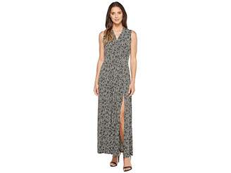 MICHAEL Michael Kors Augusta Slit Maxi Dress Women's Dress