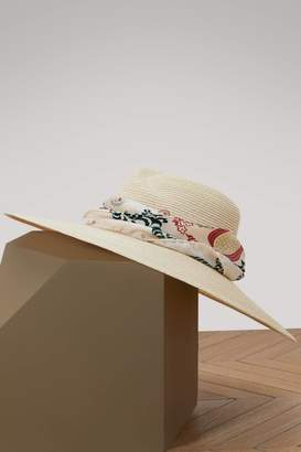 Maison Michel Virginie wide-brimmed hat