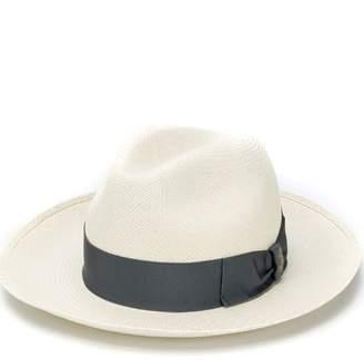 Borsalino upturned brim hat