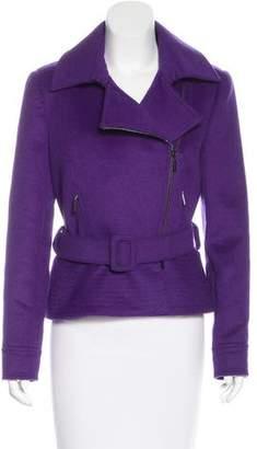 Oscar de la Renta Wool & Angora-Blend Jacket