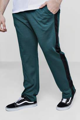 boohoo Big And Tall Panelled Joggers