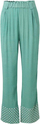 Stine Goya Vinnie Wide Leg Polka Dot Pant