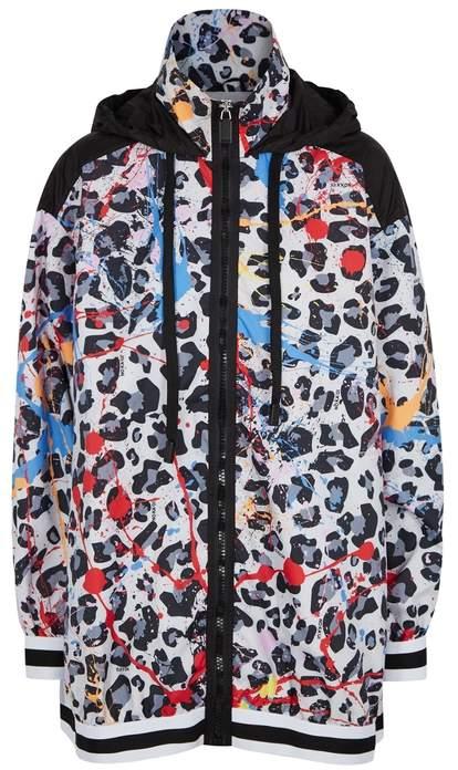 No Ka'Oi Leopaki Kaunana Printed Shell Jacket