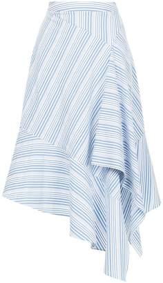 Palmer Harding Palmer / Harding asymmetric striped skirt