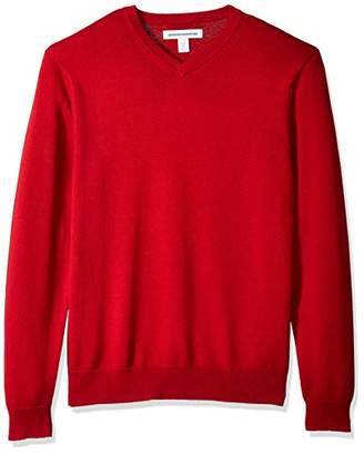 Amazon Essentials Men's Standard V-Neck Sweater
