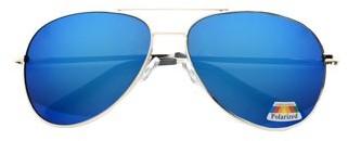 Pop Fahsionwear Polarized Aviator Unisex Sunglasses P4164