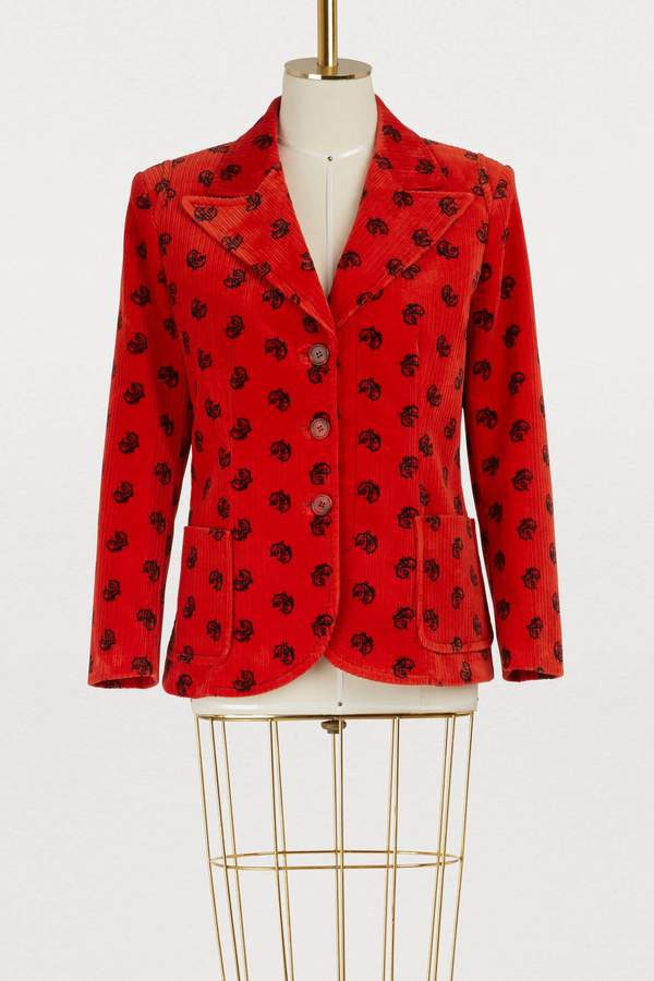 Pattern jacket