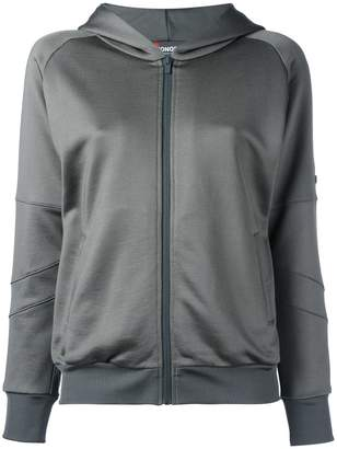 Jo No Fui sequined detail zipped hoodie