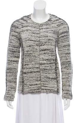 Isabel Marant Bouclé Collarless Jacket