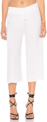 Krisa Cropped Wide Leg Pants
