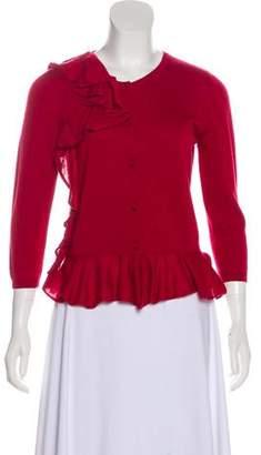 RED Valentino Wool-Blend Cardigan