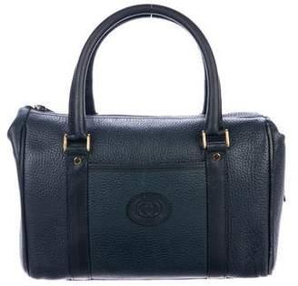 Gucci Vintage Leather Boston Bag