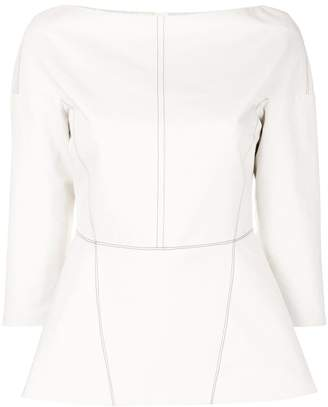 Marni shirt with top stitch detailing