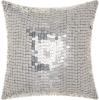 Nourison Michael Amini Square Sequins Throw Pillow