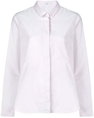 Closed concealed fastening shirt