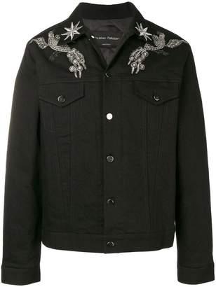 Christian Pellizzari embellished denim jacket