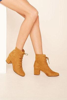 FOREVER 21+ Faux Suede Ankle Booties $34.90 thestylecure.com