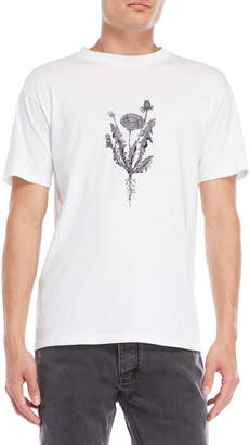 Han Kjobenhavn White Embroidered Flower Tee