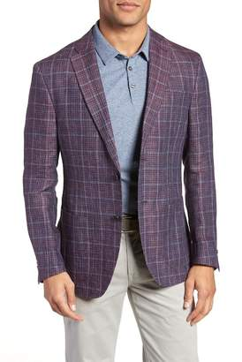 JKT NEW YORK Trent Plaid Linen Sport Coat