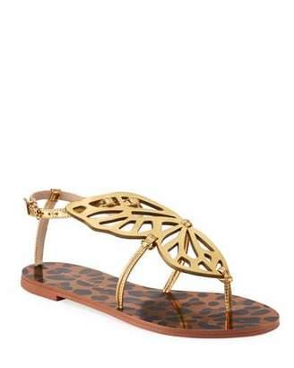 Sophia Webster Butterfly Leopard Flat Sandals