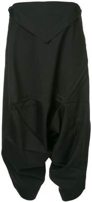 Issey Miyake 132 5. drop-crotch trousers