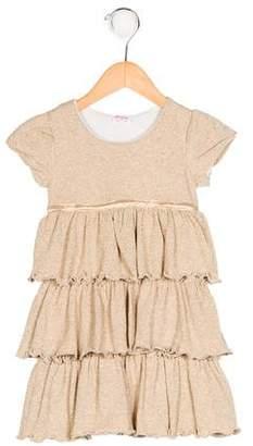 Ella Moss Girls' Metallic Knit Dress