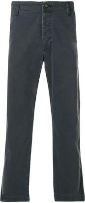 Gucci patch embellished cropped trousers