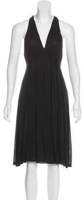 Diane von Furstenberg Sleeveless A-Line Dress