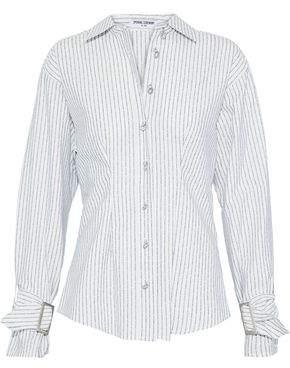 Opening Ceremony Jacquard Cotton-Blend Poplin Shirt