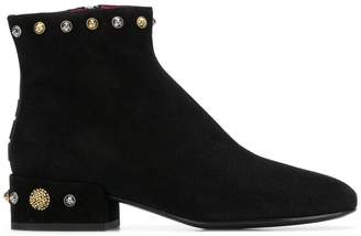 Alberto Gozzi embellished ankle boots