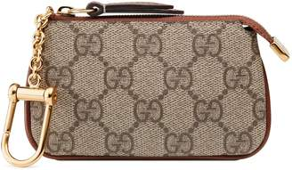 Gucci GG Supreme key case