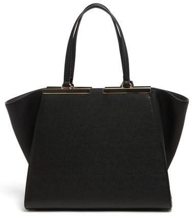 Fendi '3Jours' Leather Shopper