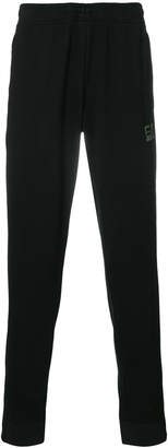 Emporio Armani Ea7 logo print sweatpants