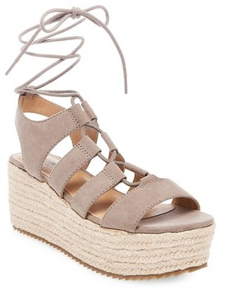 Mossimo Supply Co. Women's Pebbles Wrap Flatform Espadrille Sandals - Mossimo Supply Co. $32.99 thestylecure.com