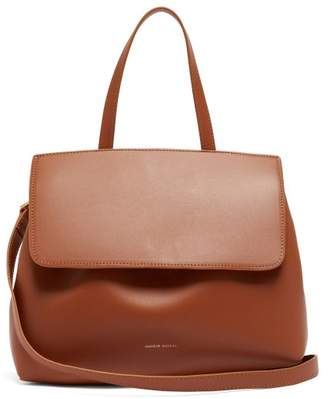 Mansur Gavriel - Lady Drawstring Leather Bag - Womens - Tan