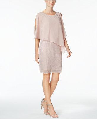 Connected Capelet Sheath Dress $79 thestylecure.com
