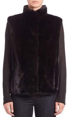 The Fur Salon Mink Fur Vest