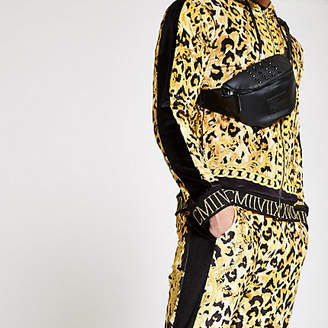 River Island Jaded London yellow leopard track jacket