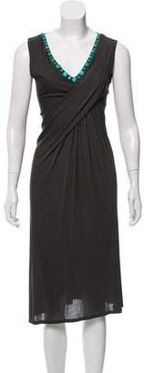 Blumarine Sleeveless Midi Dress
