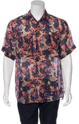 Marc Jacobs Marc JacobsCollection Floral Print Shirt