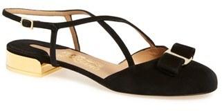 Women's Salvatore Ferragamo 'Felma' Flat $595 thestylecure.com
