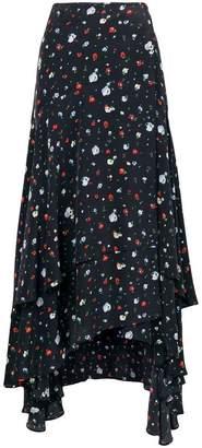 Ganni Nolana wrap skirt